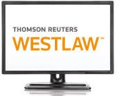 computer monitor showing Westlaw text
