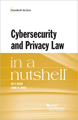 Cybersecurity and privacy law in a nutshell cover