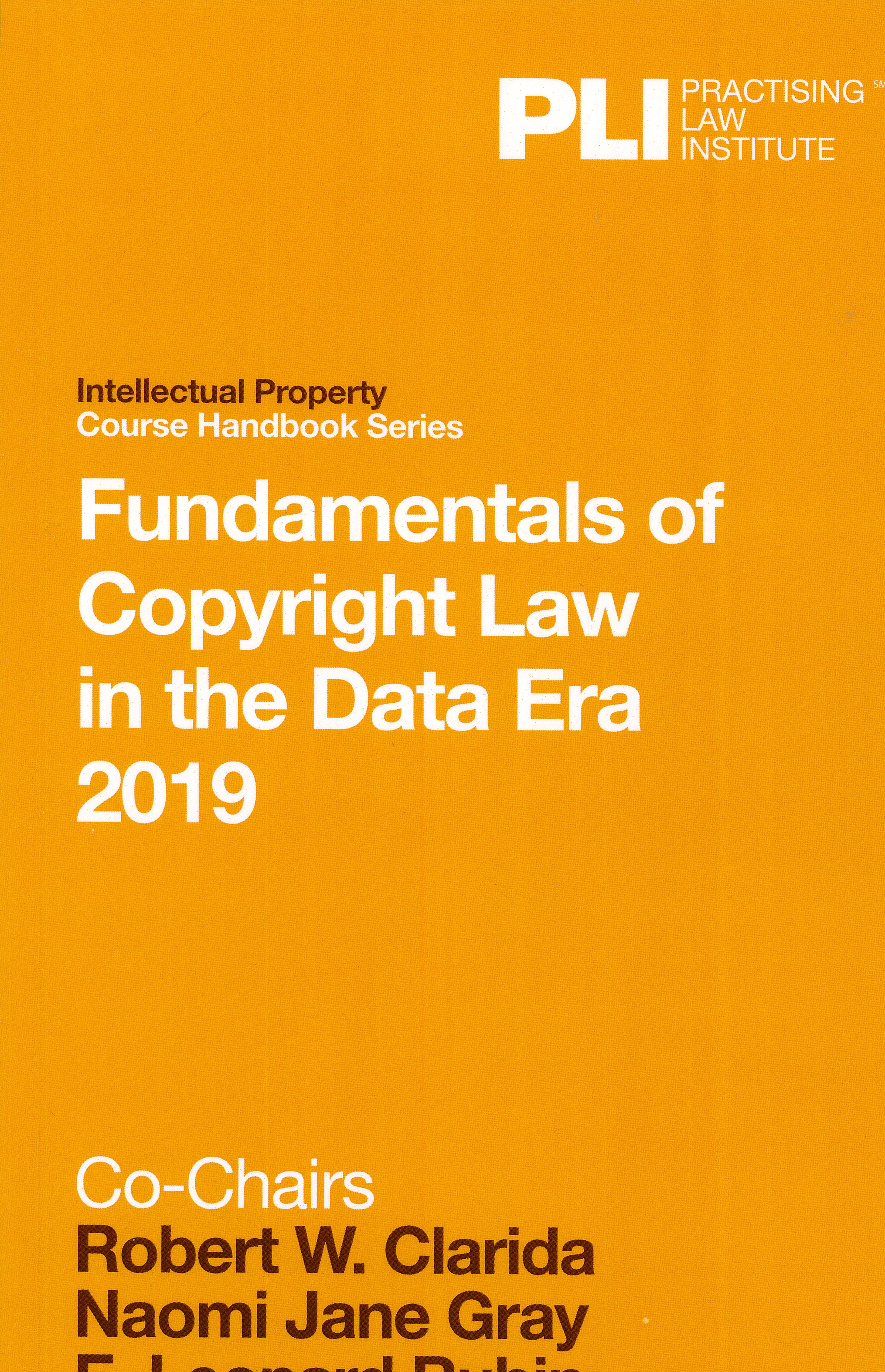Fundamentals of copyright law in the data era cover