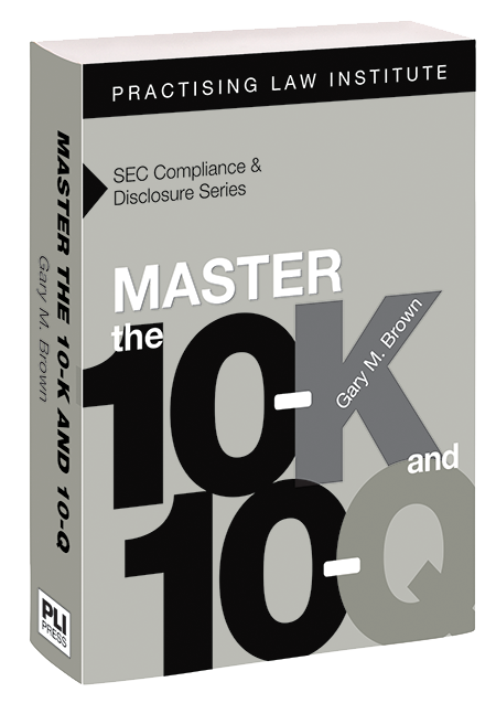 Master the 10-K and 10-Q cover