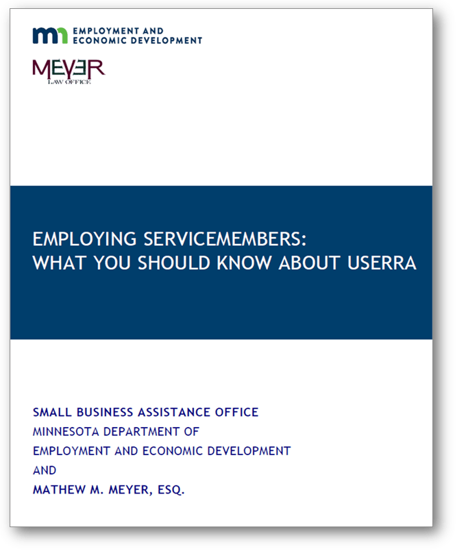 employing servicemembers what you should know about userra cover