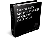 minnesota motor vehicle accident deskbook cover