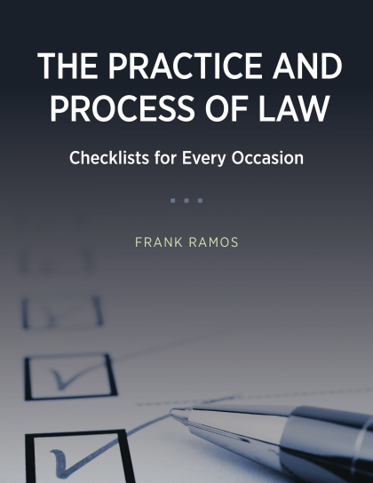 practice-and-process-of-law-checklists-for-every-occasion